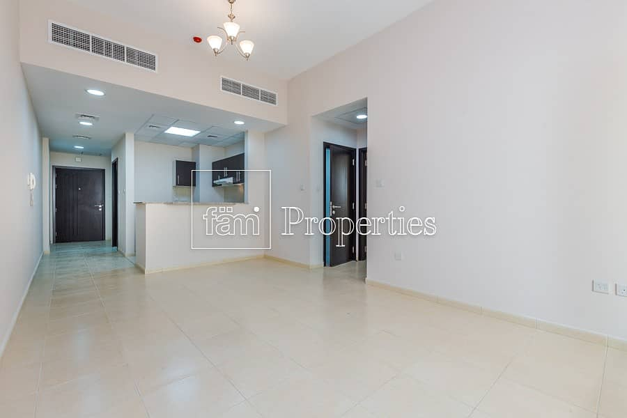 Spacious 2 BR with balcony only 40k