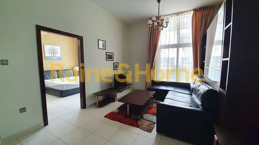 شقة 1 غرفة نوم للايجار في مدينة دبي للاستديوهات، دبي - Fully Furnished | 1Bed + Maids | Glitz 3