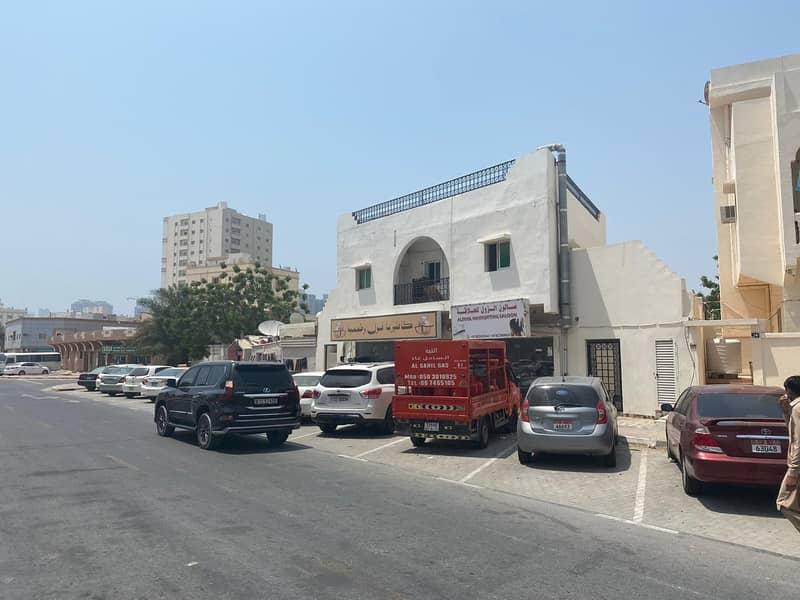 Building for sale in Ajman Al Nuaimia, great location, very attractive price and profitable annual return