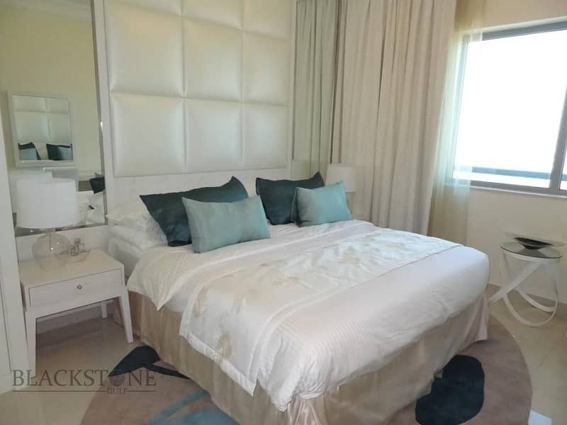 Elegant Fully Furnished 1BR at a Reasonable Price|High Floor|Great Views