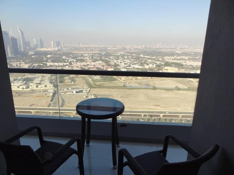 11 Elegant Fully Furnished 1BR at a Reasonable Price|High Floor|Great Views