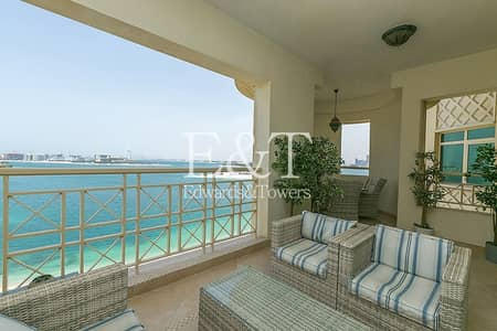 2 Bedroom Apartment for Rent in Palm Jumeirah, Dubai - Largest 2 bedroom | Full Sea View | PJ