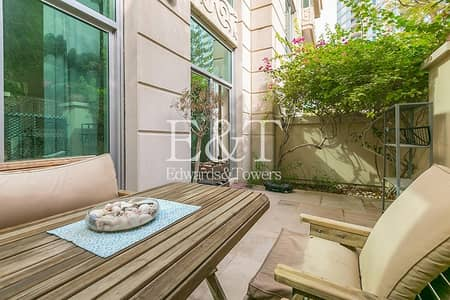 1 Bedroom Flat for Sale in Dubai Marina, Dubai - Spacious 1 BR + Study with Private Garden