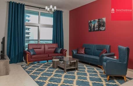 2 Bedroom Apartment for Rent in Barsha Heights (Tecom), Dubai - Near Metro  2BR with Bacony in Al Fahad 2