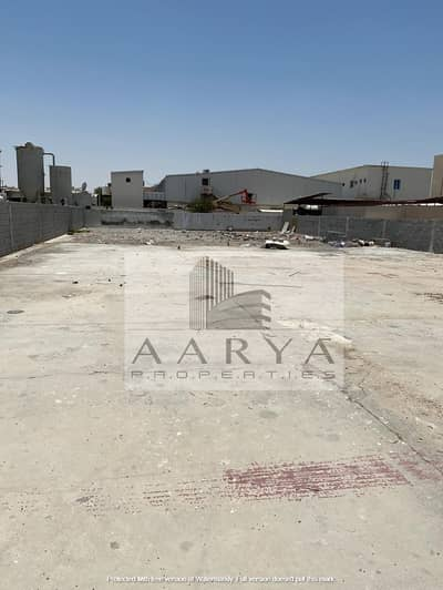 Plot for Rent in Mussafah, Abu Dhabi - 1000 sqm OPEN LAND IN MUSSAFAH