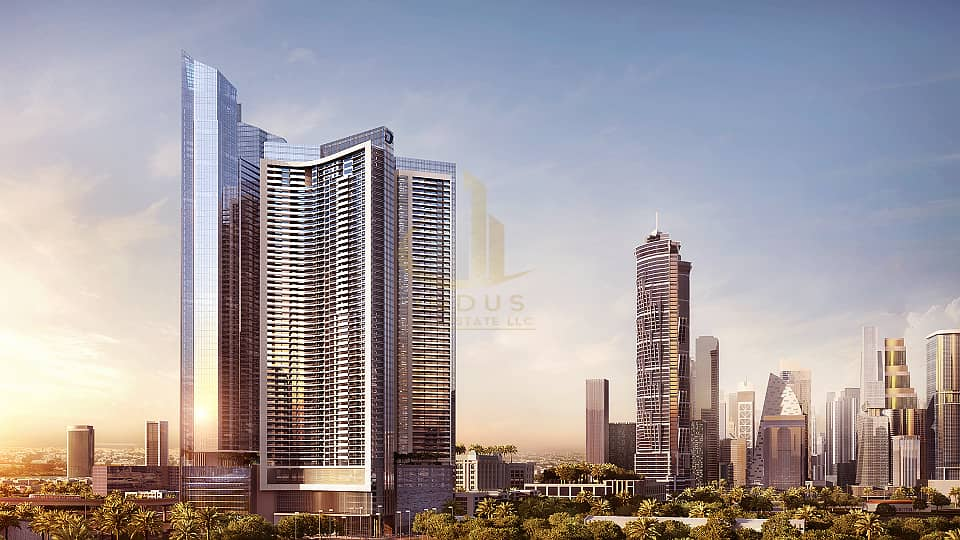 1 AYKONic Tower in heart of the city | Breathtaking Canal View - Offplan