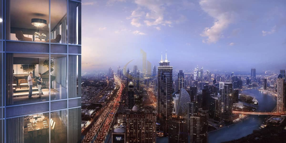 2 AYKONic Tower in heart of the city | Breathtaking Canal View - Offplan