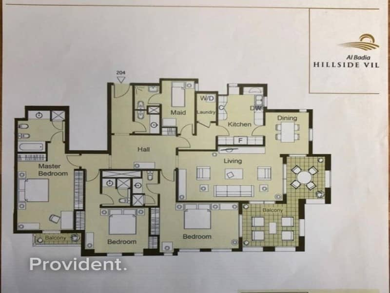 18 Corner 3 Bed with Maid's Room Condo Flat