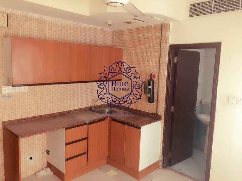 10 Biggest offer studio with central a/c  in muwaileh
