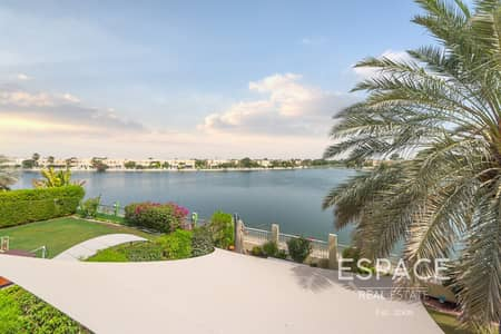 5 Bedroom Villa for Sale in The Lakes, Dubai - 5 Bedrooms plus Maids | Amazing Lake View