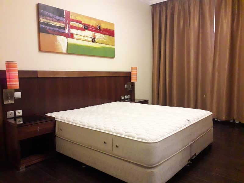 Luxurious _Fully Furnished _Chiller Free _Very Spacious 1BHK _ ALL Facilities Available _Close to Metro_In Front of RTA Bus Stop _Flexible Payments