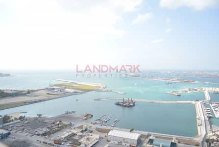 1 Bedroom Apartment for Rent in Dubai Marina, Dubai - Full Sea VIEW | Huge 1 BR w Balcony with White Goods | Dubai Marina
