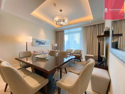 2 Bedroom Flat for Rent in Downtown Dubai, Dubai - Luxury 2 BR in Downtown   Address Fountain Views   All Inclusive!