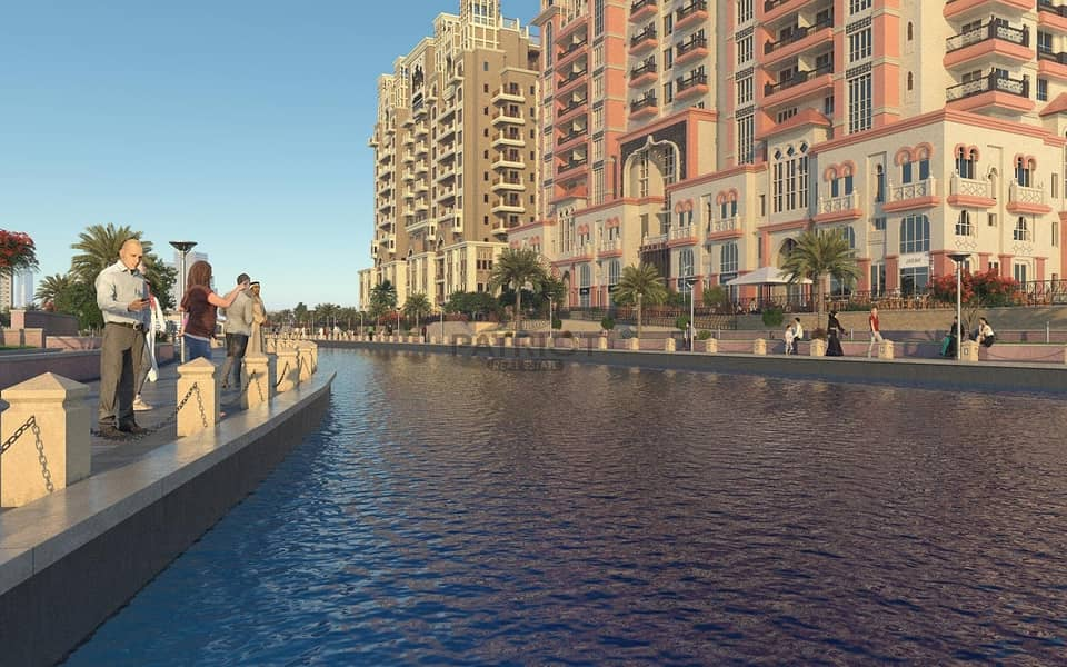 Luxury Studios With Canal Views | Ready To Move In December