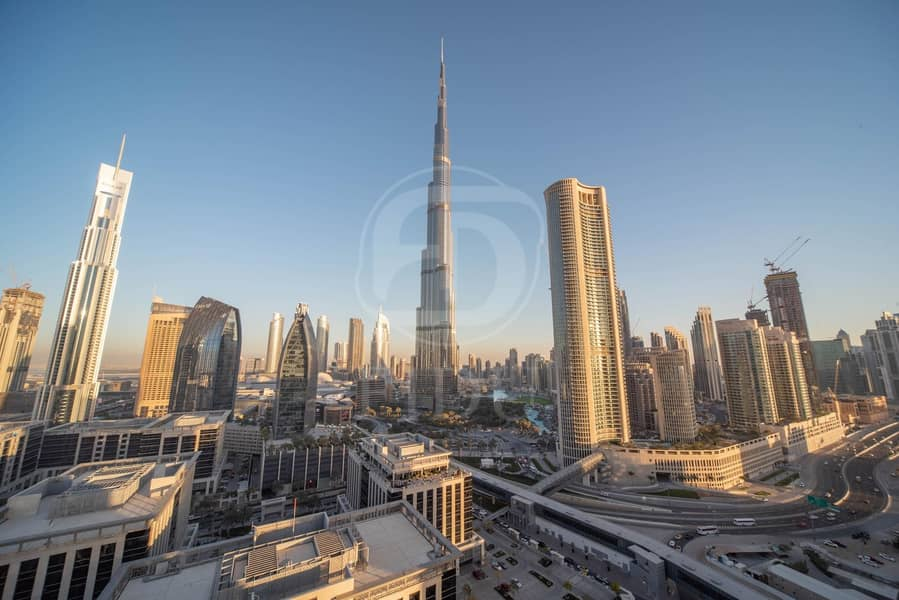 Best Layout | Serviced Furnished Unit | Burj View