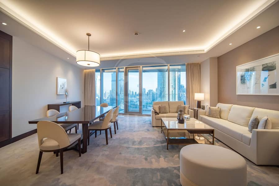 2 Best Layout | Serviced Furnished Unit | Burj View