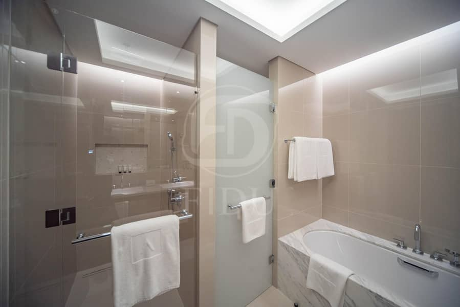 15 Best Layout | Serviced Furnished Unit | Burj View