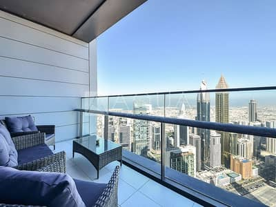 1 Bedroom Flat for Sale in DIFC, Dubai - High Floor with Balcony Layout | DIFC View