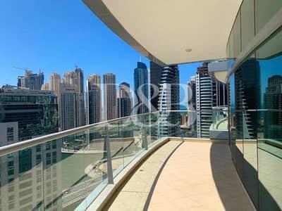 2 Bedroom Flat for Rent in Dubai Marina, Dubai - Marina View | Large 2 Bedroom Plus Maid's