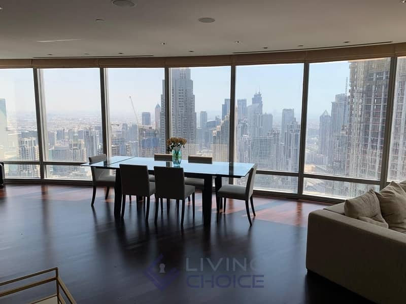 2 Fully furnished | Partial Lake & Sheikh Zayed View