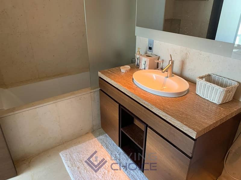 10 Fully furnished | Partial Lake & Sheikh Zayed View