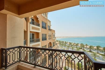 شقة 1 غرفة نوم للبيع في جزيرة المرجان، رأس الخيمة - Sea Views - Beach front -  Resort lifestyle