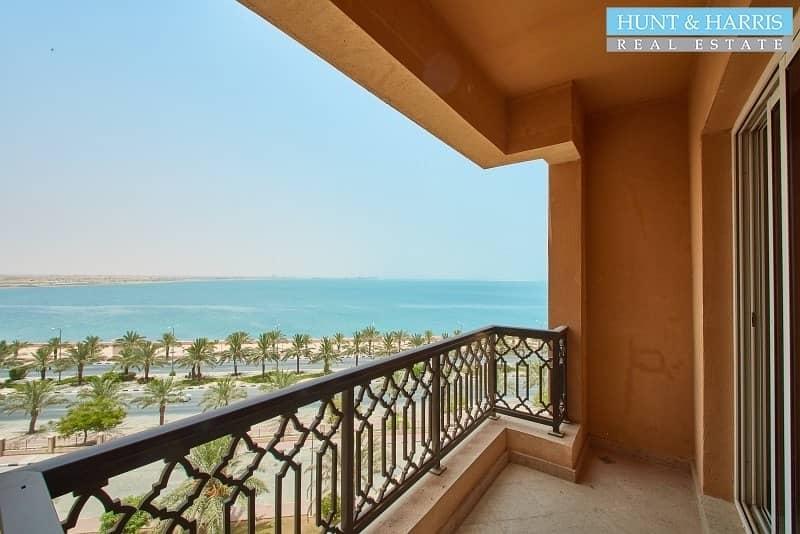 2 Sea Views - Beach front -  Resort lifestyle