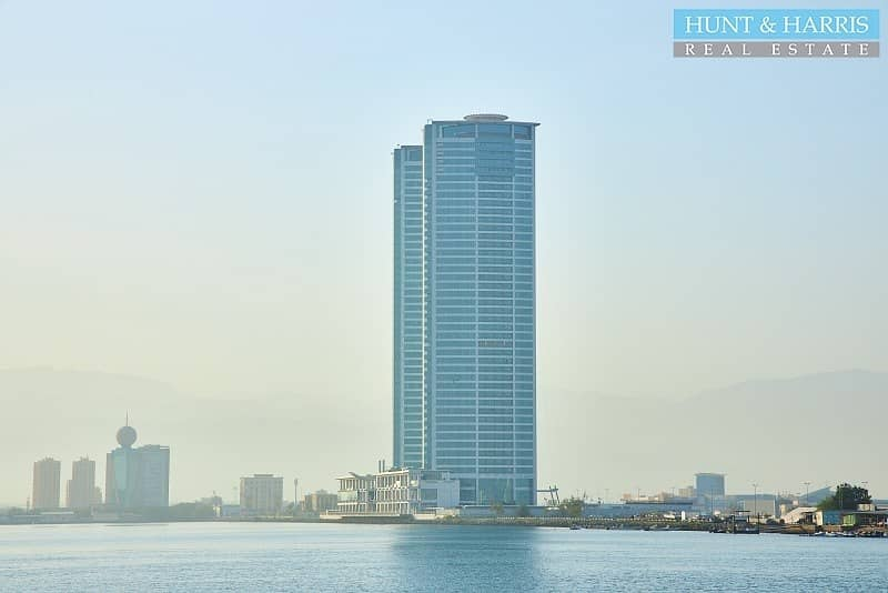 12 Julfar Tower - Stunning Water View - Available Immediately