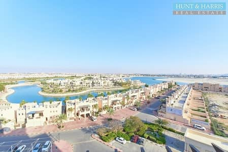 2 Bedroom Apartment for Sale in Al Hamra Village, Ras Al Khaimah - Higher Floor without Balcony - Stunning Lagoon Views!