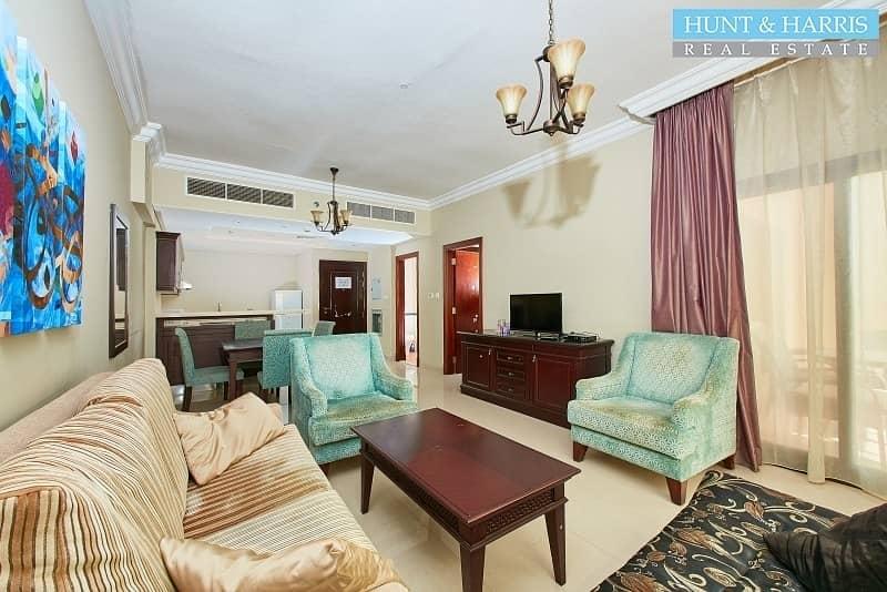 Fully Furnished - Sea Views - Al Marjan Island Resort & Spa