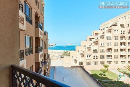 استوديو  للبيع في جزيرة المرجان، رأس الخيمة - Furnished Large Studio - Sea View - Bab Al Bahr