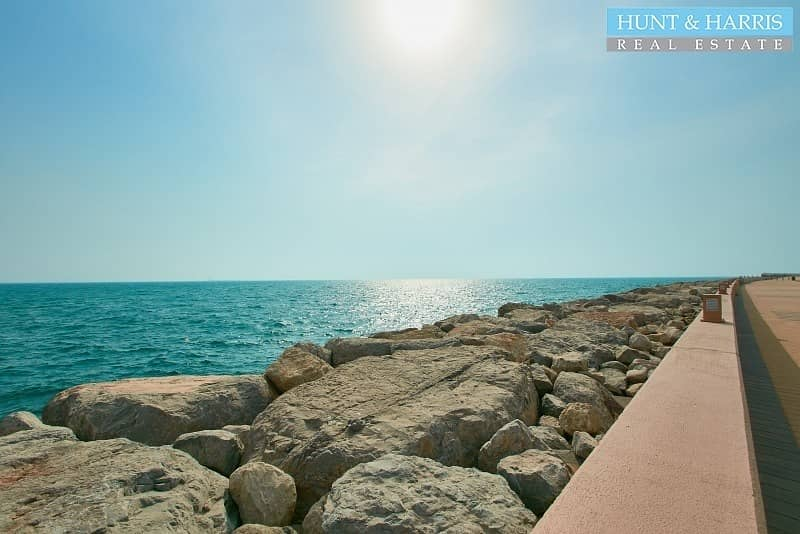 2 Below Cost! - AED 63 per sq ft on Built up - Sea Front Plot