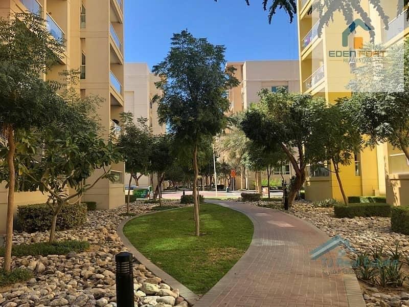 10 1 BHK | Nice View | Al Ghozlan 1 | Greens