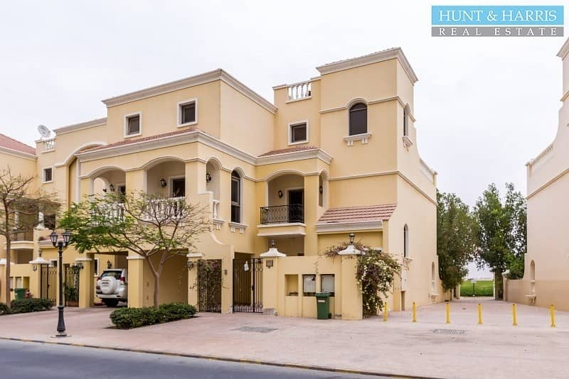 4 Bedrooms -  Townhouse + Maids - Garden and Lagoon View