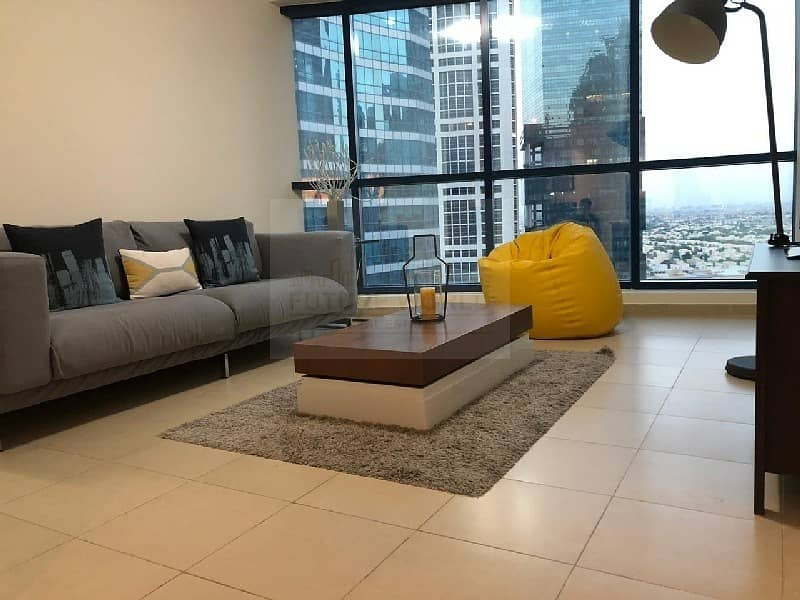 2 40k | Lake View | Fully Furnished | 1BR