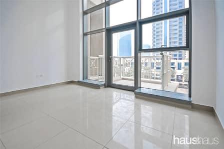 استوديو  للايجار في وسط مدينة دبي، دبي - High Ceilings | Bright Studio | Boulevard View