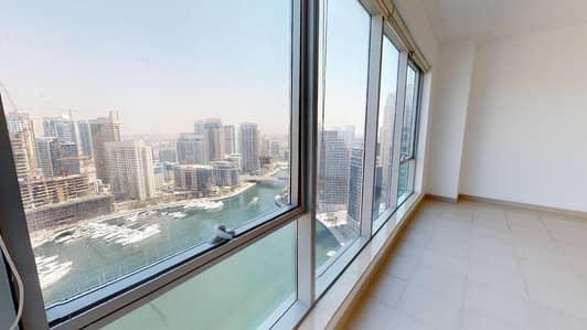 شقة 3 غرف نوم للايجار في دبي مارينا، دبي - Marina view   Squash courts   Visit with digital lock