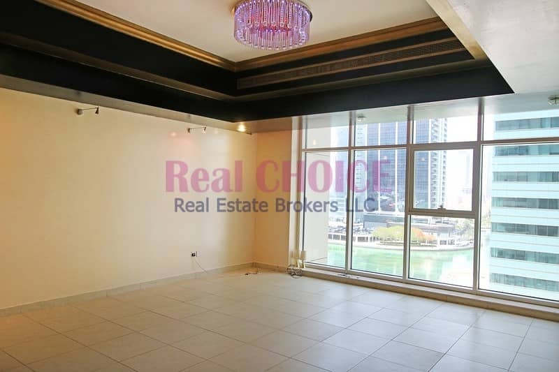 Spacious Layout 2BR + Maid Apartment|Marina View