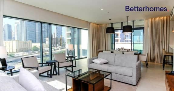 2 Bedroom Apartment for Rent in The Hills, Dubai - Serviced & Furnished   2 Bed   Vacant August