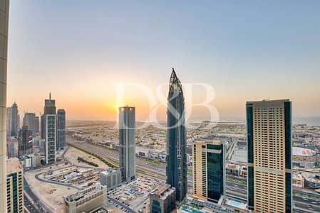 فلیٹ 2 غرفة نوم للبيع في وسط مدينة دبي، دبي - Actual Photos | Sea View | Unique Layout | Vacant