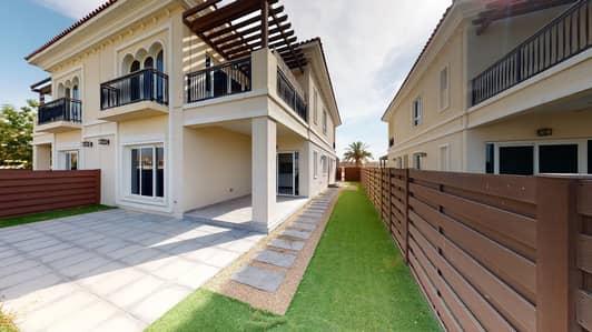 فیلا 4 غرف نوم للايجار في دبي لاند، دبي - Huge villa | Partial Polo Field view | Rent online
