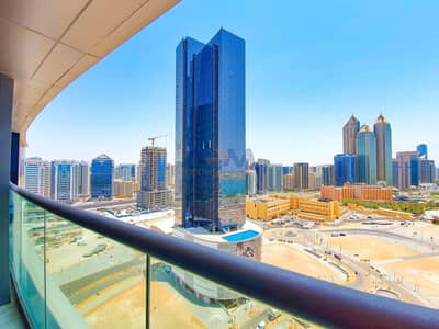 1 Bedroom Apartment for Rent in Corniche Area, Abu Dhabi - High Quality Finishes With Great  Facilities 1BHK+Balcony.