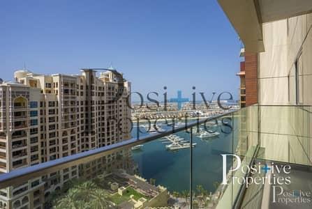 شقة 2 غرفة نوم للايجار في نخلة جميرا، دبي - HYATT MANAGED | BILLS INCLUDED | SEA VIEW