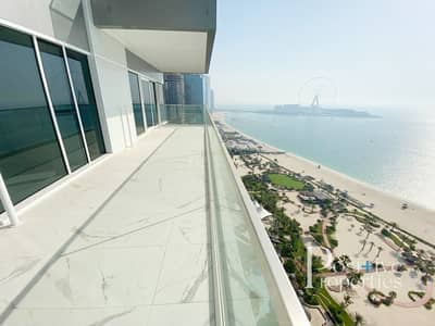 شقة 3 غرف نوم للايجار في جميرا بيتش ريزيدنس، دبي - Sunset / Full Sea View ~ 3 Bed+Maid ~ Corner Unit
