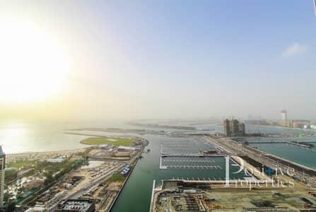 1 Bedroom Apartment for Rent in Dubai Marina, Dubai - Stunning Sunset/ Sea Views - High floor - 1 Bed