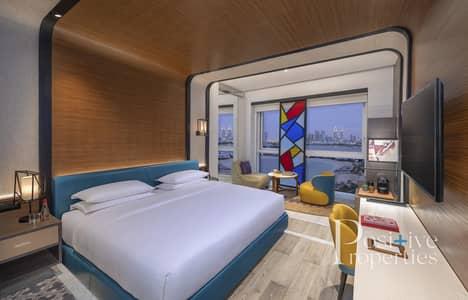 استوديو  للايجار في نخلة جميرا، دبي - Beach Access / Fully Serviced 5* Hotel
