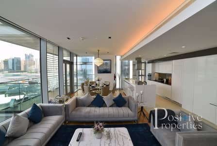3 Bedroom Apartment for Rent in Bluewaters Island, Dubai - Genuine Listing - Full Dubai Eye View - Furnished