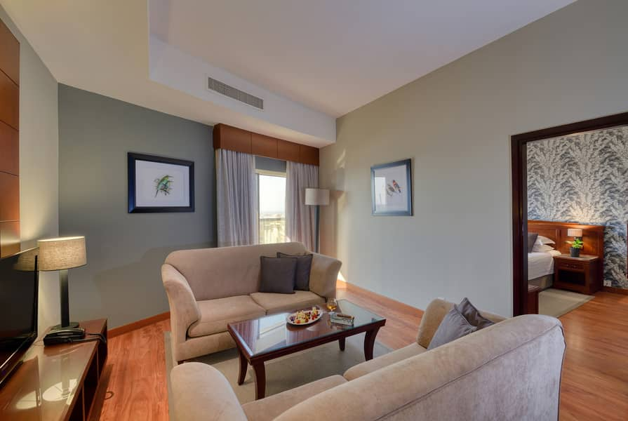 شقة فندقية في المنخول بر دبي 3 غرف 14000 درهم - 4658871
