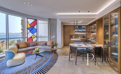 شقة فندقية 1 غرفة نوم للايجار في نخلة جميرا، دبي - Fully Serviced / FIVE STAR hotel apartments