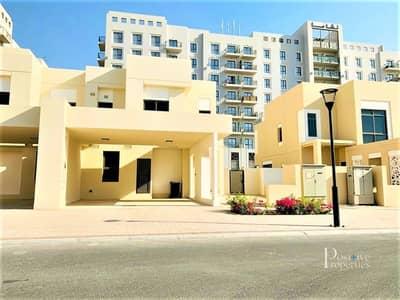 تاون هاوس 4 غرف نوم للايجار في تاون سكوير، دبي - SINGLE ROW | TYPE 14 - CORNER | BRAND NEW